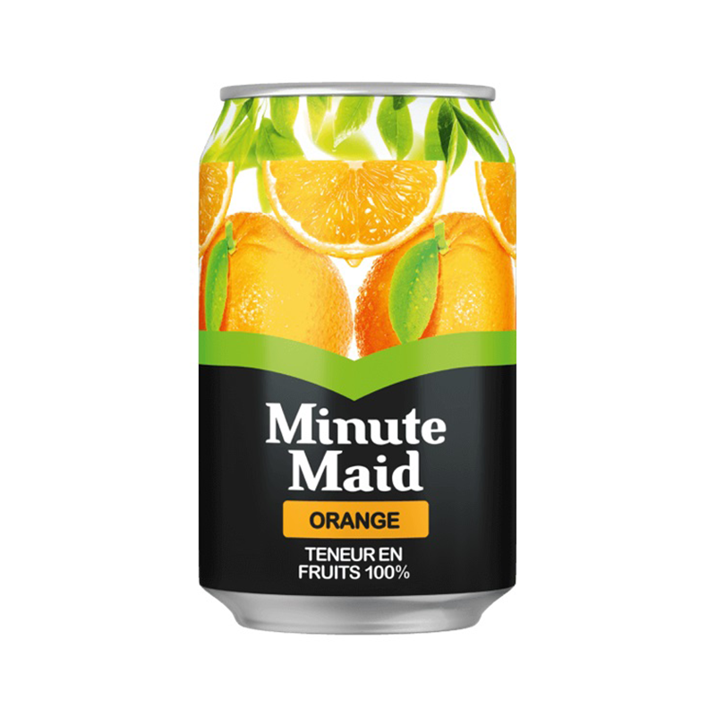 Minute Maid orange blik