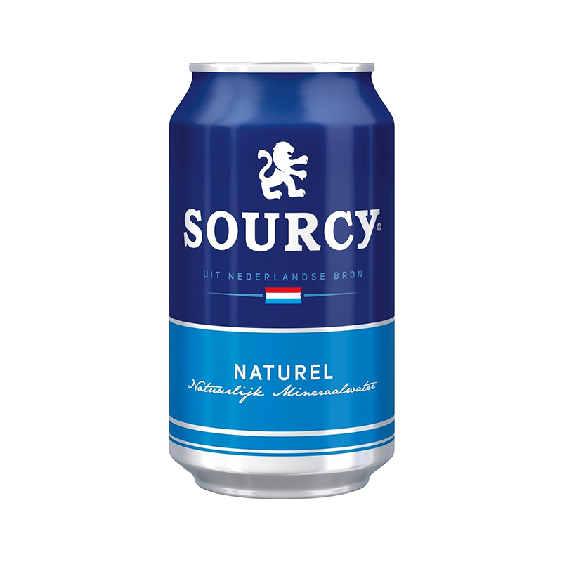 Sourcy mineraalwater naturel blik