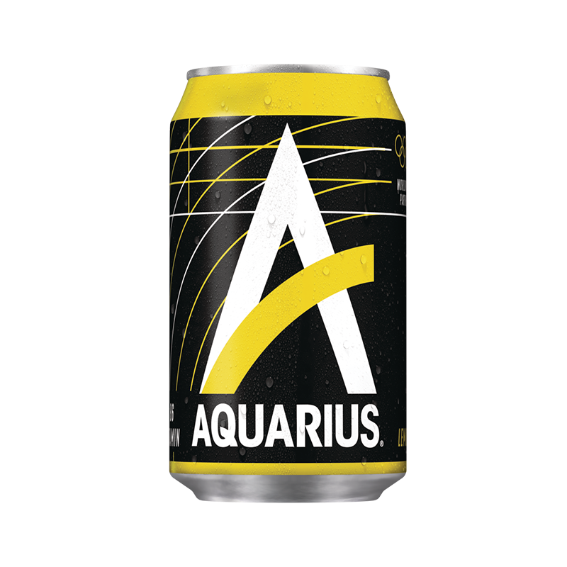 Aquarius Lemon blik