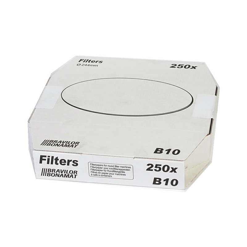 Bravilor rondfilters B10 244mm